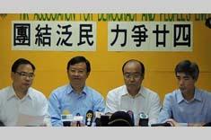 司馬文支持馮檢基競逐超級區議會議席 Paul Zimmerman endorses Frederick Fung Kin-kee for Super Seat
